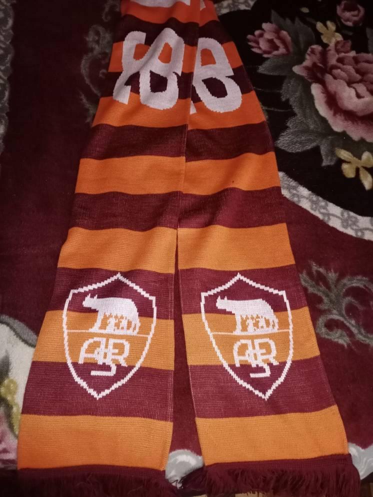 Футбольный шарф FC Roma