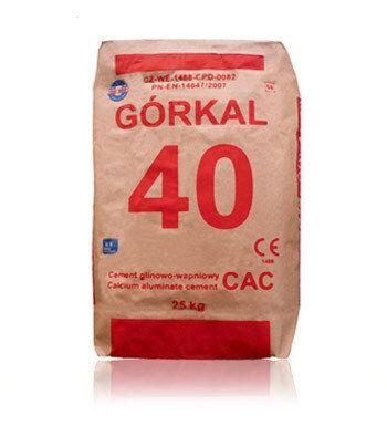 Цемент вогнетривкий Горкал-40