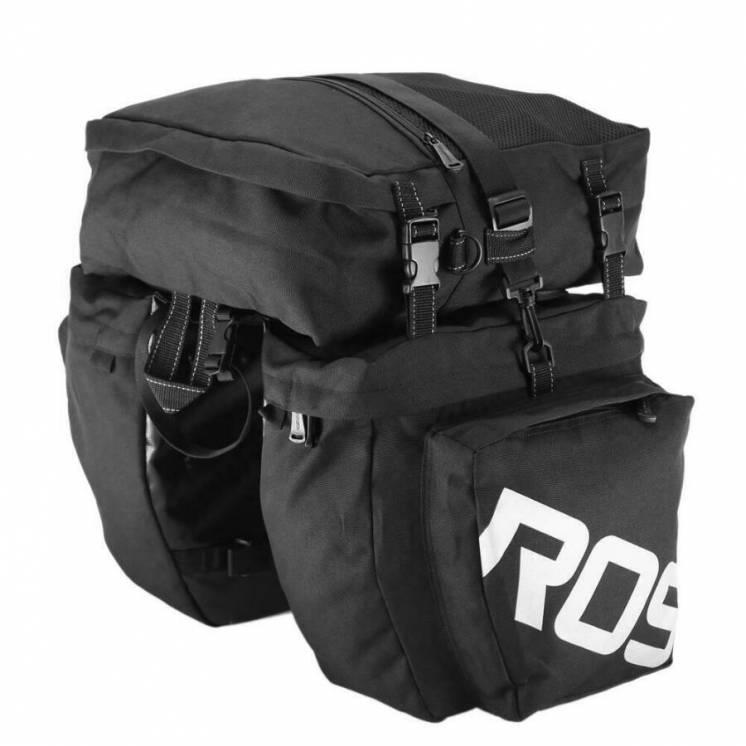 Сумка велосипедна на багажник Roswheel 14892-A-1 37L Чорний 6920636715