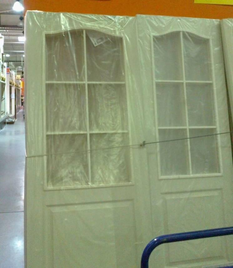 Полотно дверное под стекло 600х2000х35 мм