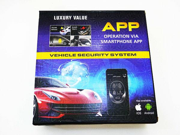 Автосигнализация Car Alarm KD 3000,управление с приложения