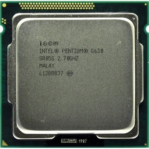 Процессор Intel Pentium G630 2,70 GHz dual core LGA1155