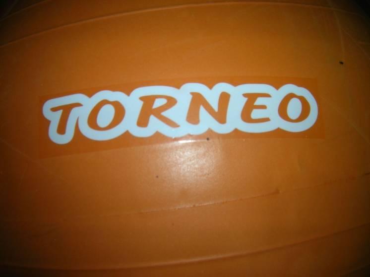 Мяч- фитбол TORNEO диам.75 см до 200кг веса и с шикарным насосом