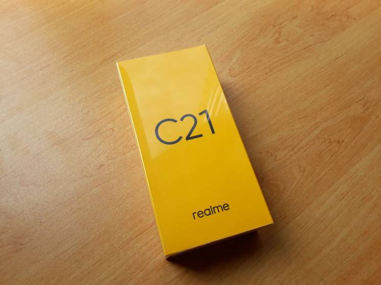 Realme C21 4/64GB Black NFC (Global Version)