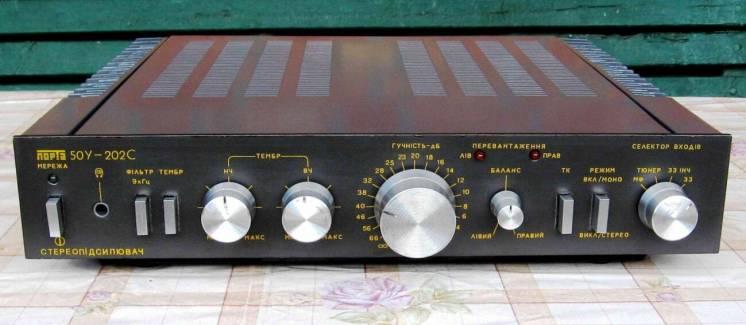 Усилитель Амфитон 50У-202С модернизированный (с оконечниками Сухова)