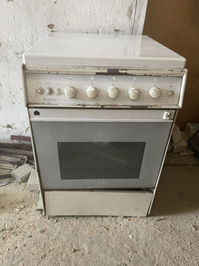 Продам рабочую газовую плиту