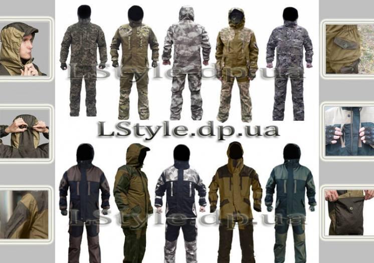 Костюм горка олива, хаки, камуфляж. Тактическая одежда, военная форма.