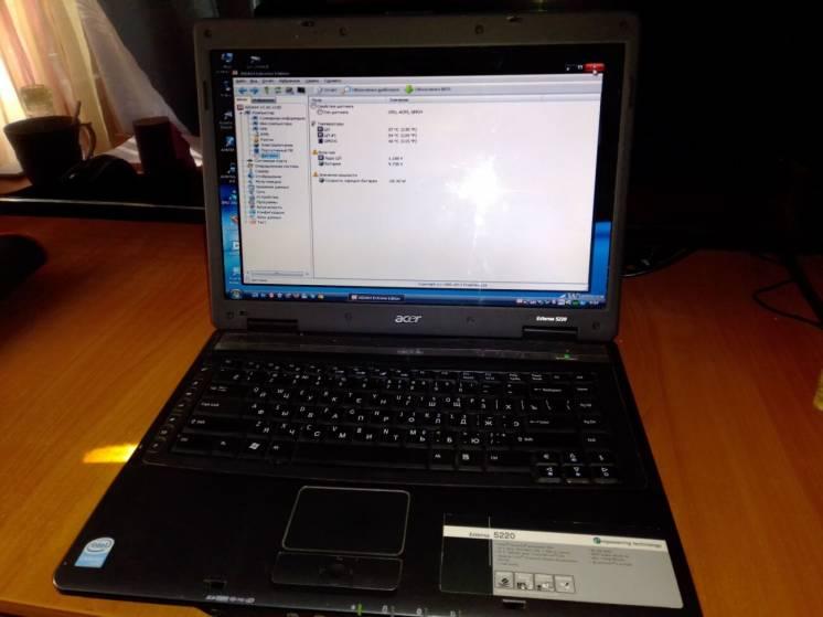 Продам Ноутбук Acer Extensa 5220