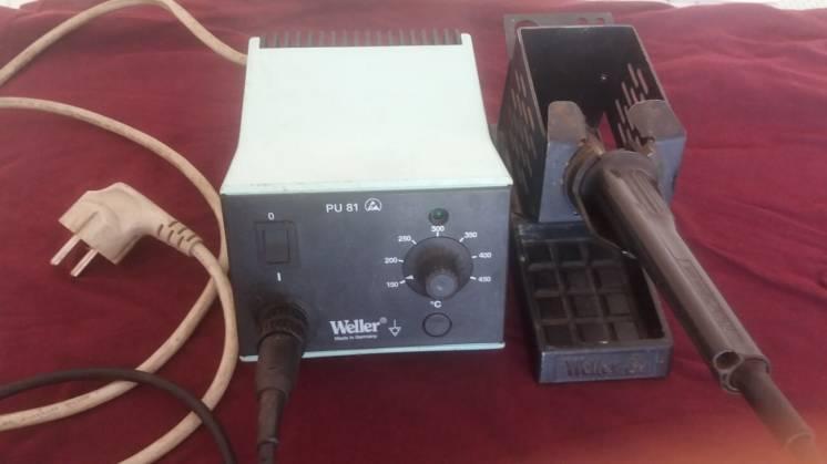 Паяльная станция одноканальная Weller PU 81