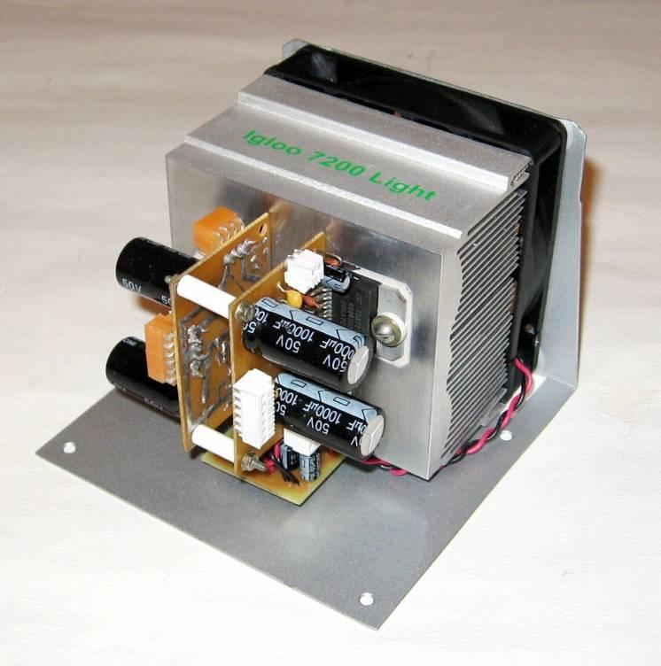 Усилитель мощности на TDA7293 (2х120 Вт)