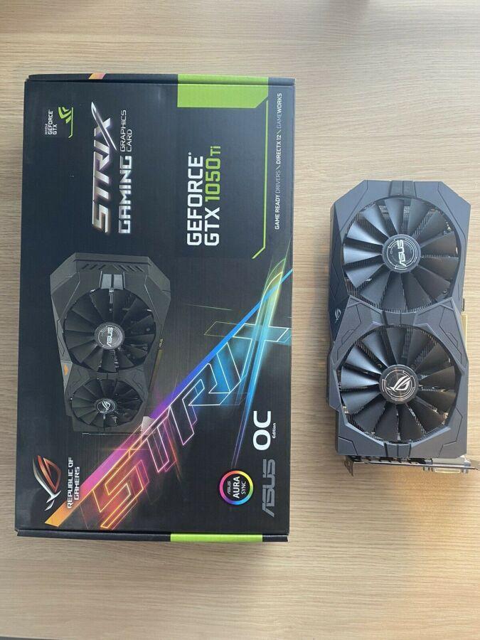ASUS ROG Strix GeForce GTX 1050 TI OC Edition 4GB