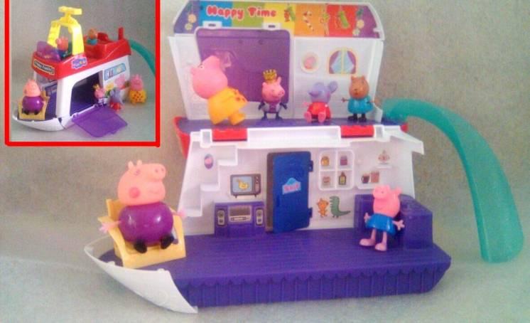 Игровой набор Happy family свинка Пеппа, нюанс