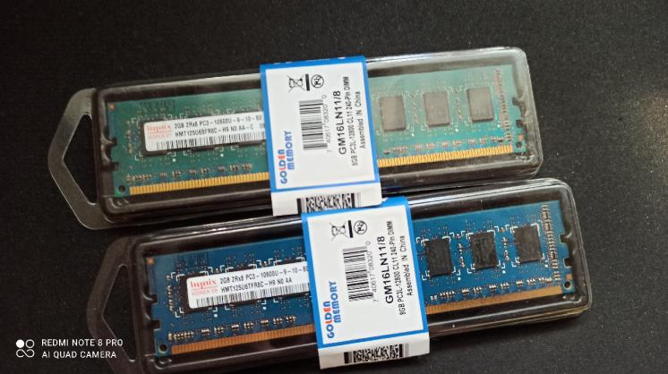 Оперативная память DDR3 2x2Gb