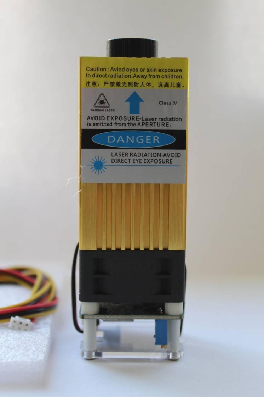 Лазерный модуль 40w для гравировального чпу