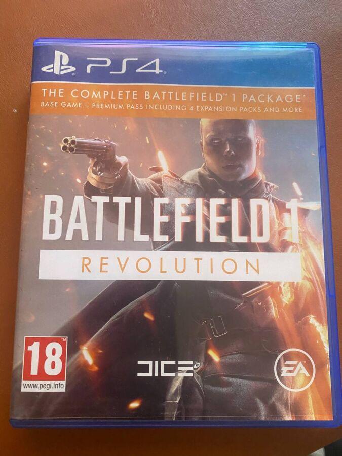 Игра Battlefield 1 Revolution на PS4