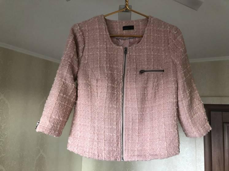 Пиджак из твидовой ткани