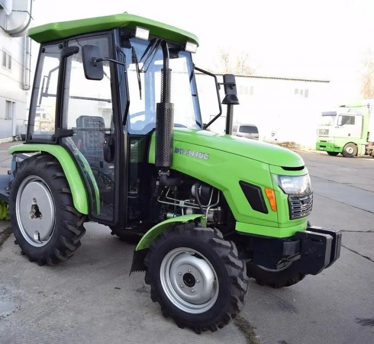 Мини трактор DW 244 с кабиной Доставка/Гарантия