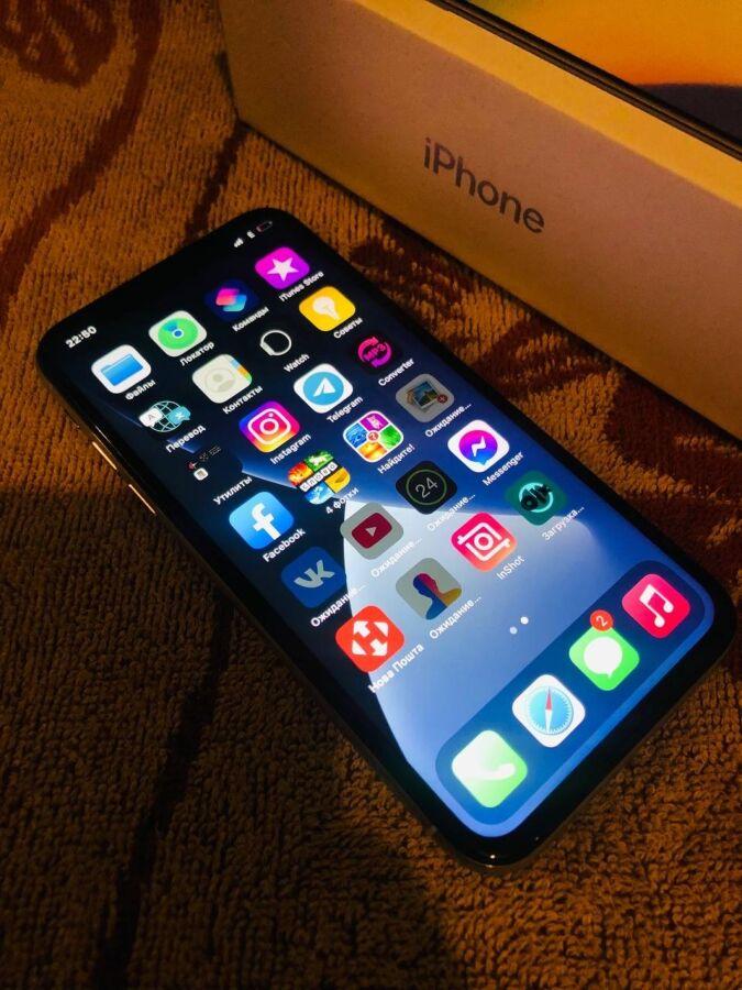 iPhone X 256gb, Silver Срочно!