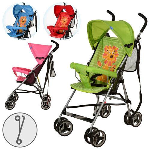Б/В Дитяча літня прогулянкова коляска-тростинка Bambi M2716, червона