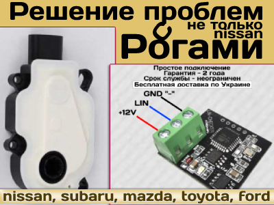 Моторчик активных жалюзи/шторки радиатора Nissan Рог(Rogue),Субару, др