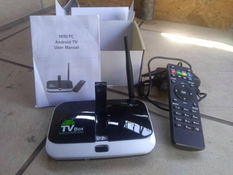 БУ Смарт ТВ Android TV Box CS918S