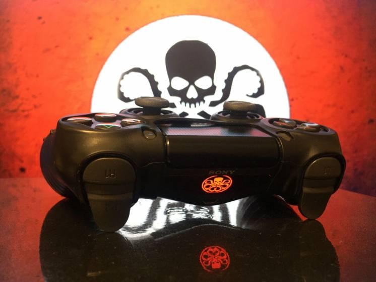 Наклейки на Dualshok, PS4, Playstation, геймпад, джойстик