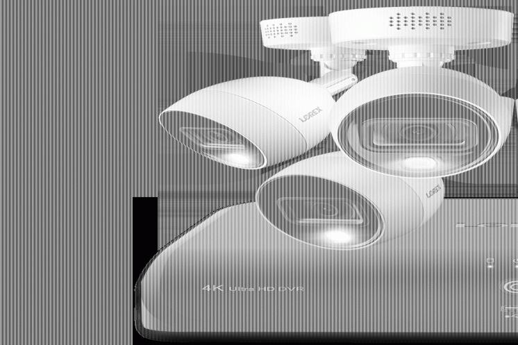Комплект камер відеонагляду Lorex. 8мп, 4к.