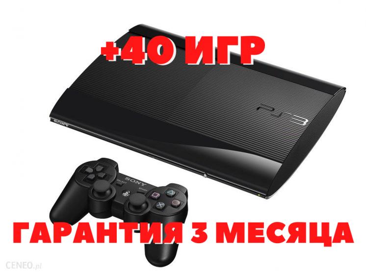 Консоль Приставка Sony PS3 Playstation 3 SuperSlim 500 GB Сони ПС3