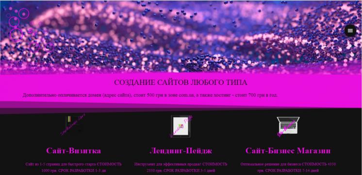Разработка сайтов логотипов по доступным ценам