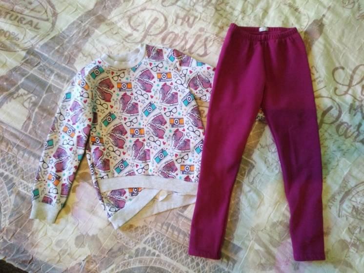 Тёплый костюм, кофта и штаны Bembi, р. 122-128