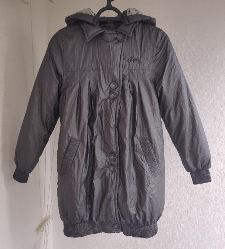 Стильная куртка с капюшоном для девочки Replay