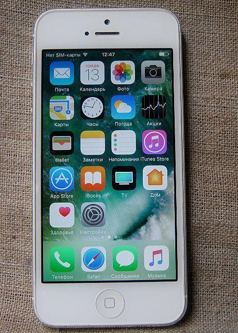 Iphone 5 на ремонт или запчасти