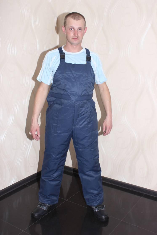 Полукомбинезон утепленный, комбинезон, спецодежда, рабочая одежда