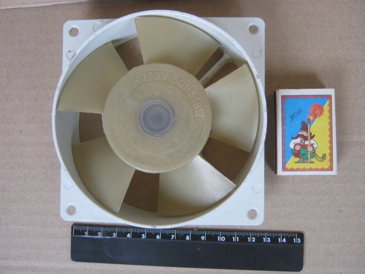 Вентилятор впн 220 в, 18 вт.