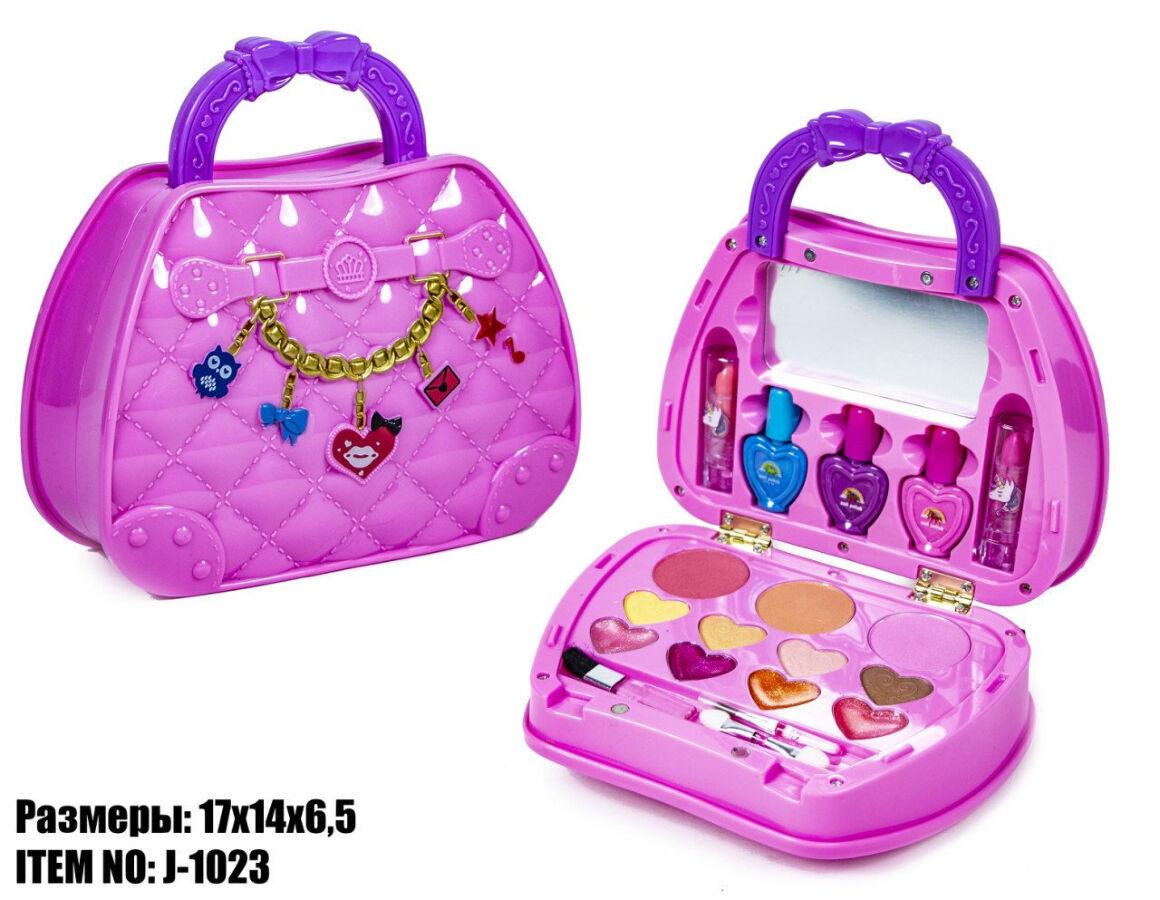 Набор детской косметики в сумочке J-1023
