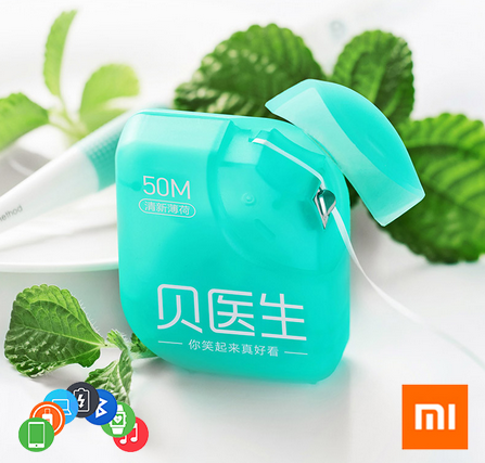 Зубная нить Xiaomi Doctor B нитка 50 м