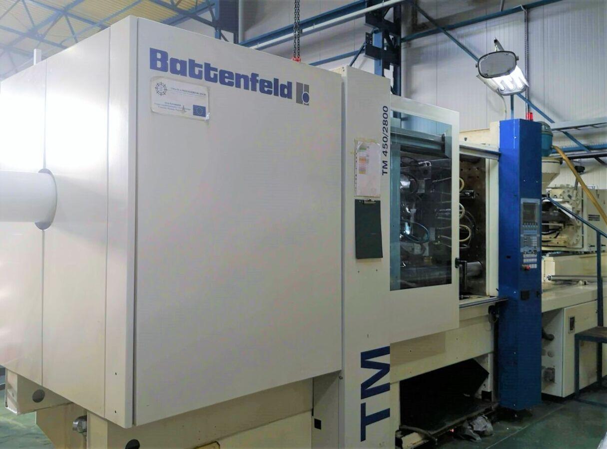 Термопластавтомат Battenfeld TM 450/2800
