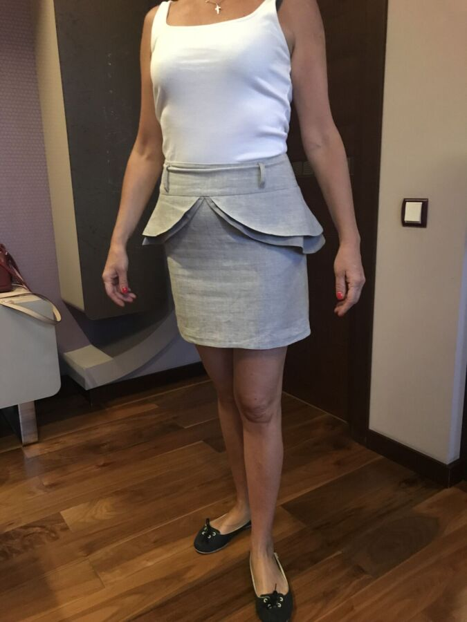 Мини-юбка с баской Atmosphere