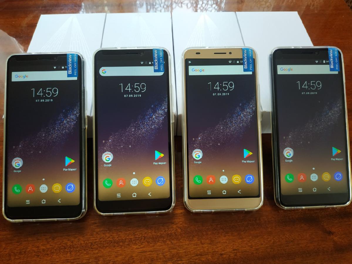"Blackview S6 2/16 5,7 ""ips 4180 Mah + чохол, навушники"