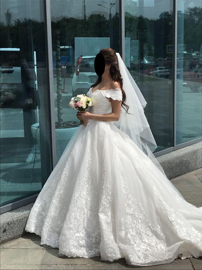 Продам свое свадебное платье, не венчаное