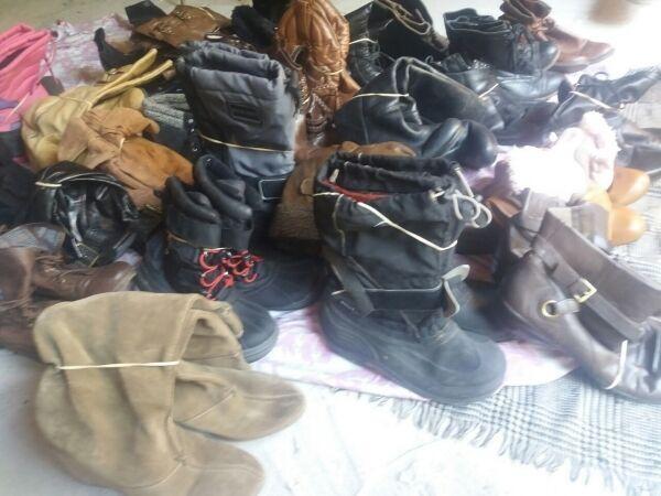 Классная обувь первого и экстра сорта. сезон: осень-зима. на вес.