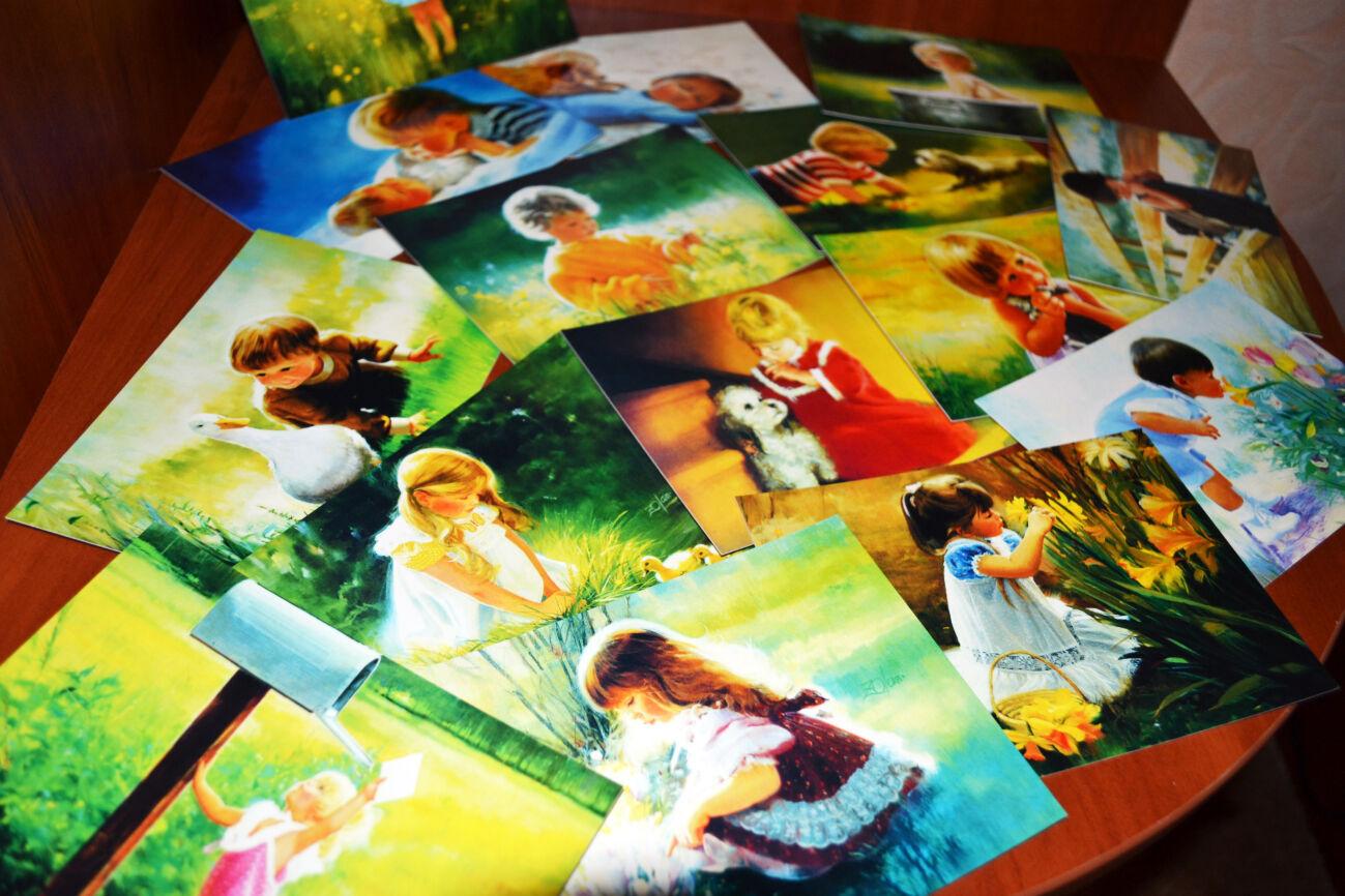 Сайты коллекций открыток