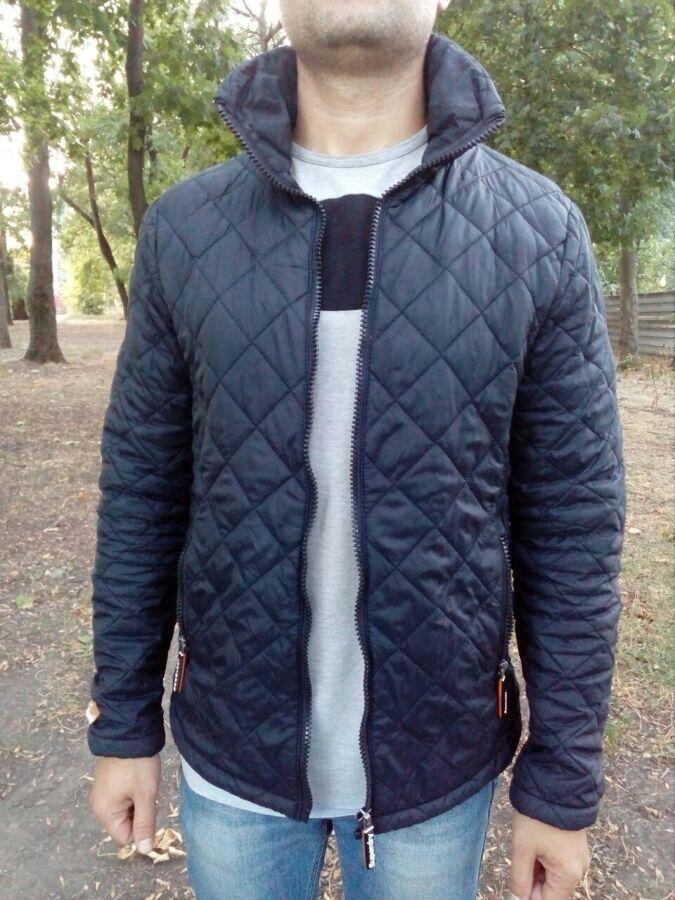 Куртка, курточка, мужская, демисезонная, стеганная, ветровка, Superdry