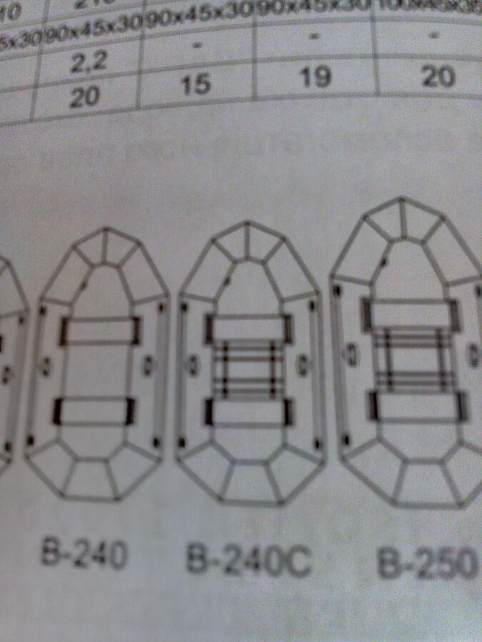 Продам лодку резиновую новую в упаковке Bark в-240с