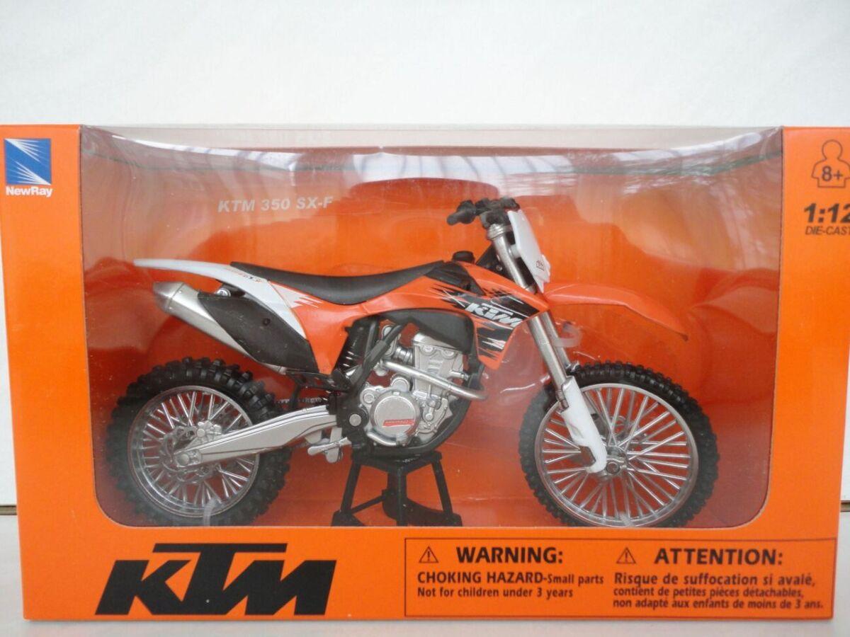 Мотоцикл модель 1:12 Ktm Sx-f 350 New Ray Motocross мотокрос игрушка