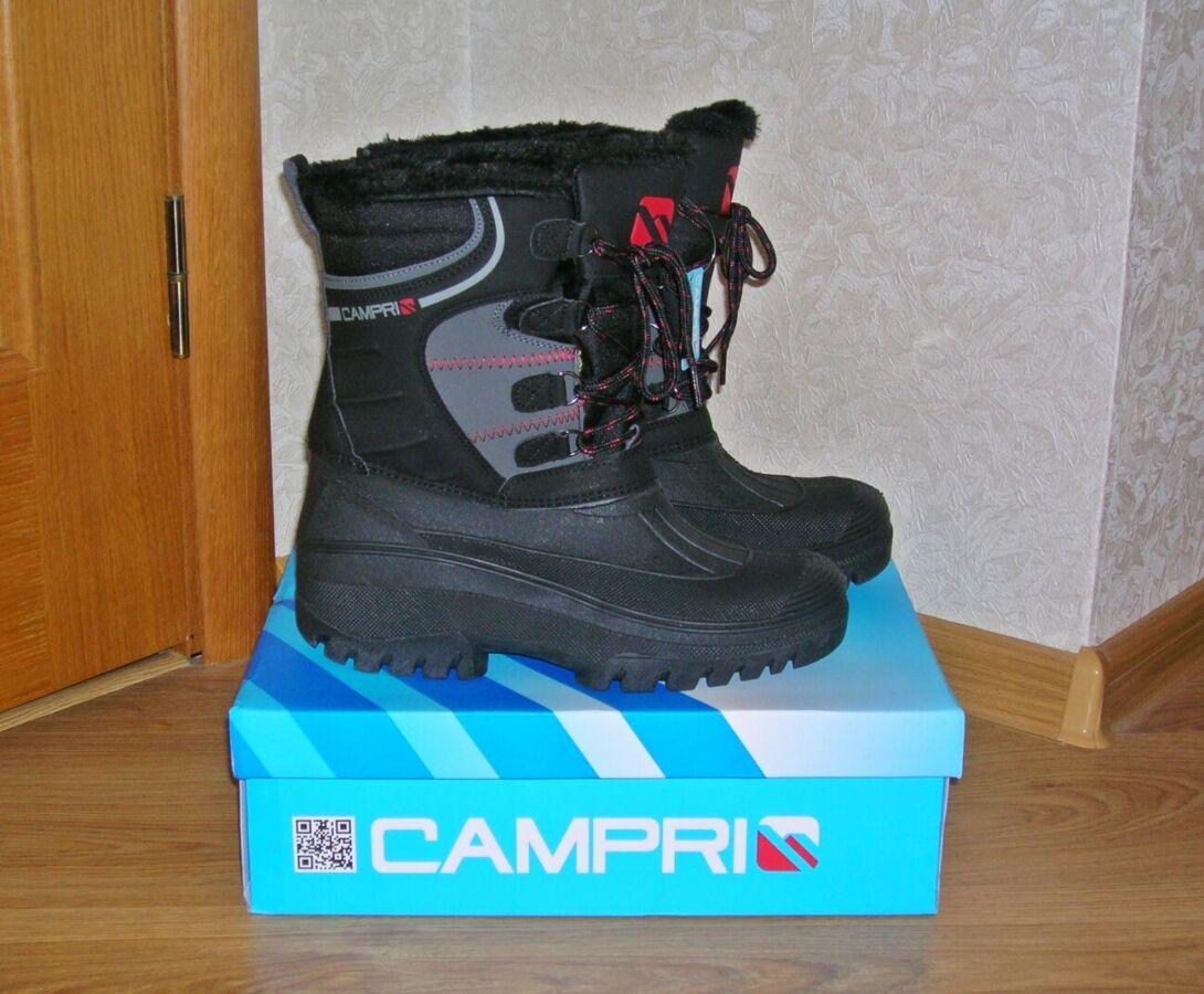Сапоги мужские Campri Snow.  англия. оригинал. размер анг. 9. евр. 43.