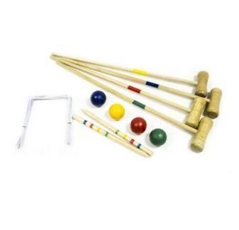 Набор для игры в крокет Master для 4 человек игра крокет