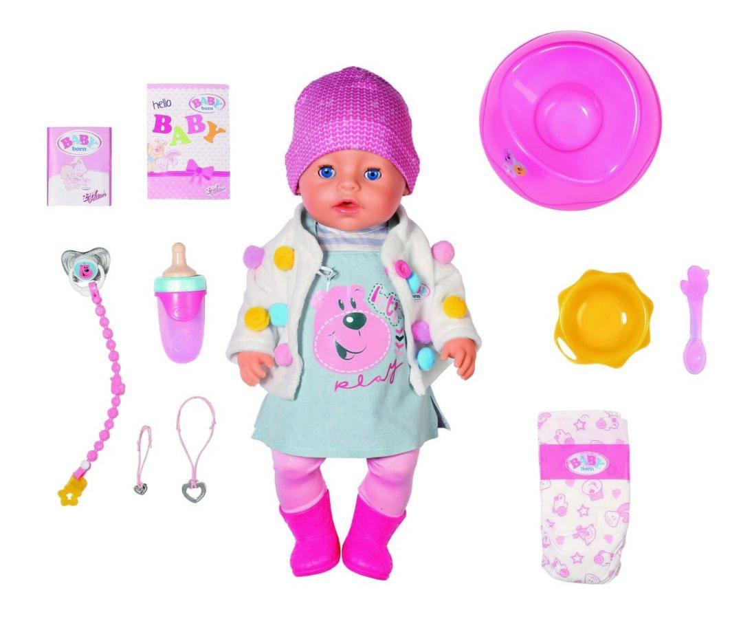 Кукла Baby Born нежные объятия стильный лук Zapf 826690