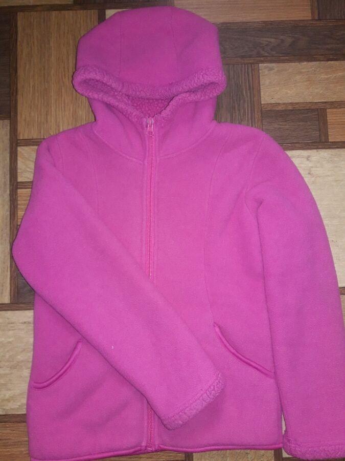 Теплая курточка для девочки 7-8 лет фирмы Faded Glory