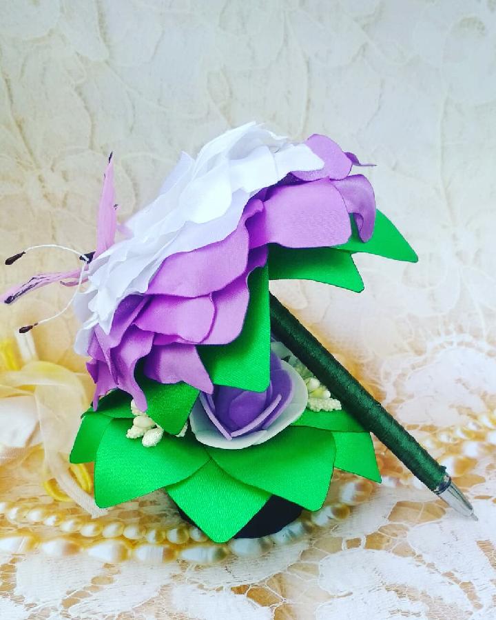 Ручка-роза, подарок, сувенир